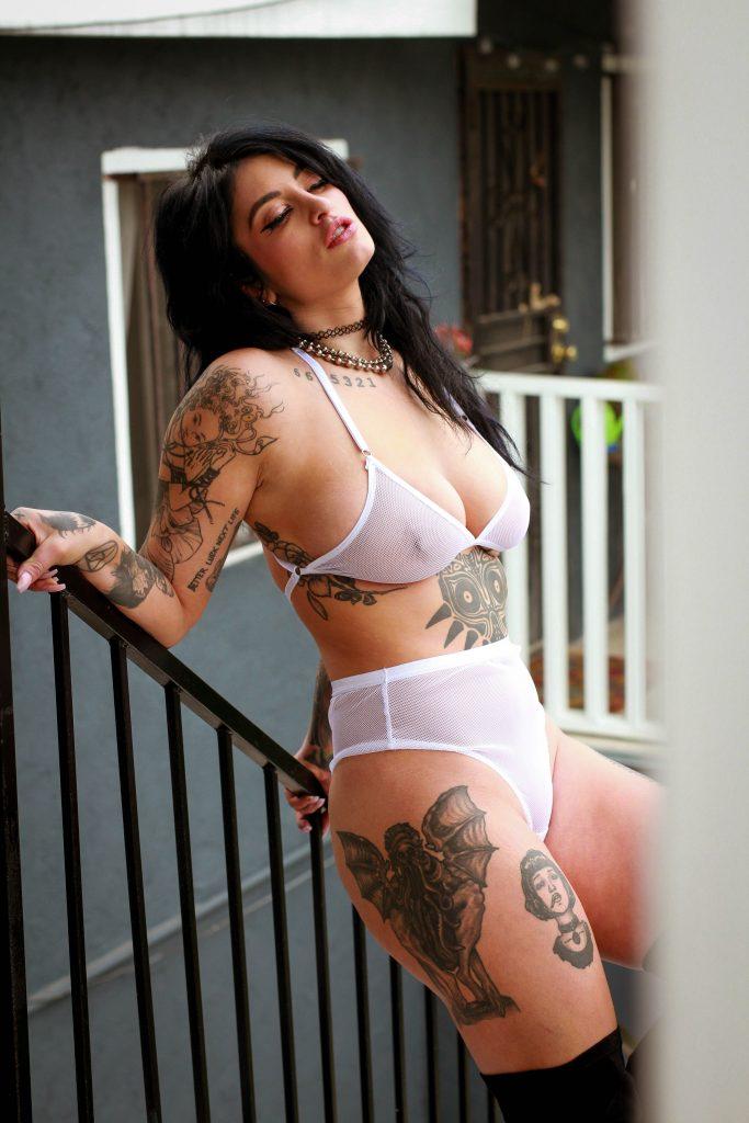 BlackWings Lingerie - Handmade Lingerie - White FIshnet Set; High Waist Thong and Bralette; Sexy Underwear;